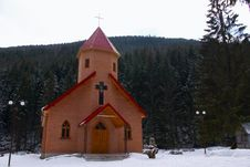 Free Forested Chapel Stock Photo - 5754850