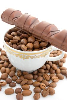 Free Coffee And Chocolate Stock Photo - 5755070