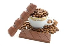 Free Coffee And Chocolate Stock Images - 5755084