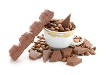 Free Coffee And Chocolate Royalty Free Stock Image - 5755086