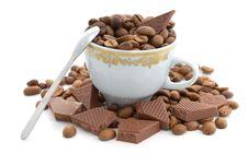 Free Coffee And Chocolate Royalty Free Stock Photos - 5755098