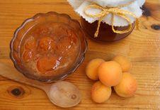 Free Apricot Jam Of House Preparation Stock Photos - 5755173