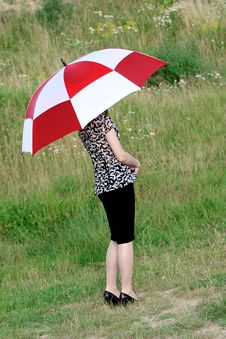 Free Umbrella Girl Royalty Free Stock Photography - 5755207