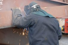 Free Welding Royalty Free Stock Photography - 5755557