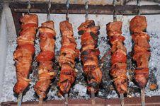 Free Shish Kebab Royalty Free Stock Image - 5755566