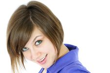 Smiling Look Royalty Free Stock Images