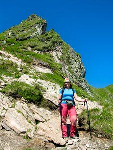 Free Hiking In Romania Mountain Stock Image - 5756181