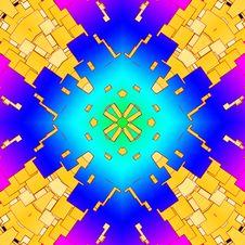 Free Colour Square Tile Pattern Background 10 Stock Photos - 5756653