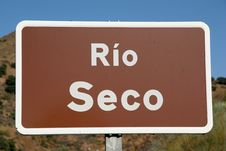 Free Rio Seco Royalty Free Stock Images - 5757079