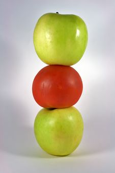 Free Apples And Tomatoes Stock Photo - 5758190