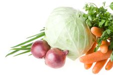 Free Still-life With Vegetables Royalty Free Stock Image - 5758536