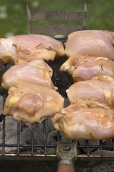 Free Grilling Chicken Stock Images - 5758814