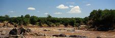 Free Panoramic View Of Mara River Royalty Free Stock Photos - 5758868