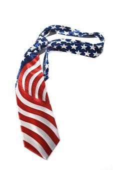 Free US Flag Necktie Stock Images - 5759184