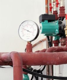 Free Pipes And Thermometer 2 Stock Photography - 5759332