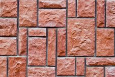 Free Stone Brick Wall Texture Royalty Free Stock Photo - 5759345