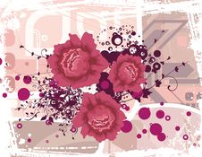 Free Floral Grunge Background Stock Photos - 5759603