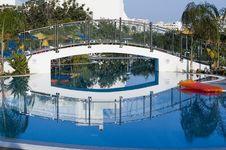 Hotel Pool Royalty Free Stock Photos