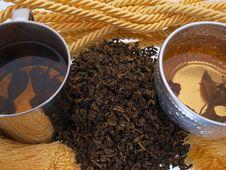 Free Green Butter Tea Presentation Royalty Free Stock Photo - 5759655
