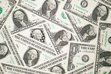 Free A Lot Of Banknotes One US Dollars Royalty Free Stock Image - 57527826