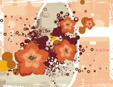 Free Floral Grunge Background Royalty Free Stock Image - 5760146