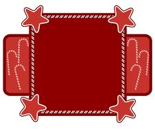 Free Candy Cane Frame Royalty Free Stock Image - 5761716