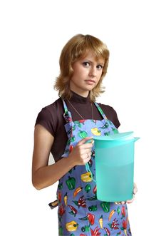 Free The Girl With A Jug Royalty Free Stock Photos - 5762068