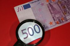 Free Closeup Of European Currency Royalty Free Stock Photos - 5762388