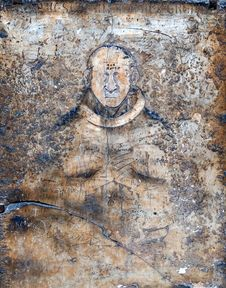 Free Image Of Man On The Ancient Wall Royalty Free Stock Photo - 5762435