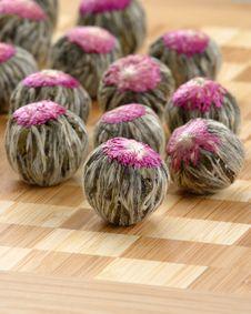 Free Flowering Tea Rosettes Stock Images - 5762784