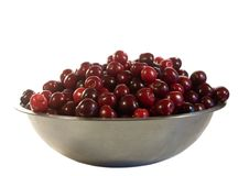 Free Sweet Cherries On White Royalty Free Stock Images - 5762899
