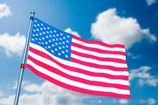 Free American Flag Stock Photos - 5763013