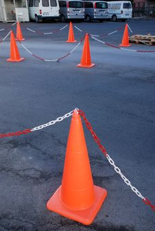 Free Traffic Cones Royalty Free Stock Photo - 5763075