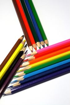 Free Color Pencils Stock Photography - 5763362