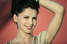 Free Beautiful Lady Smiling Stock Photo - 5763590
