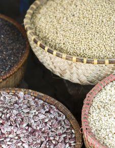 Free Seeds At A Market Stock Photos - 5763623