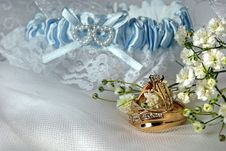 Free Golden Rings Royalty Free Stock Photos - 5763648