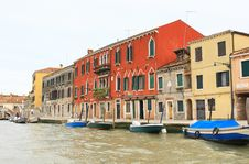 Free The Canals In Venice Stock Photography - 5764042