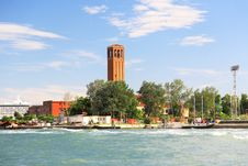 The Near-by Island Venice Royalty Free Stock Images