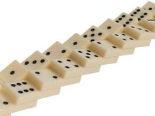 Free Dominoes Concept Stock Images - 5764164