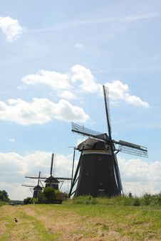 Free Windmill In The Hague Stock Photos - 5764363