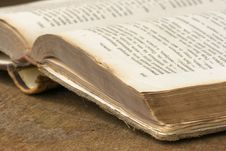 Free Old Book Close Up Stock Images - 5764984
