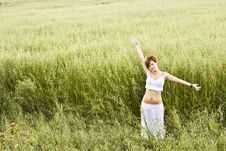 Free Freedom On The Field Royalty Free Stock Photos - 5765368