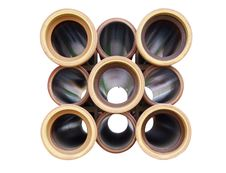 Ceramic Pipes Isolated Royalty Free Stock Image