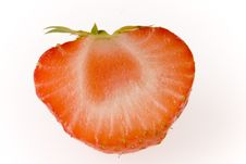 Free Half Of Strawberry Stock Photography - 5766352