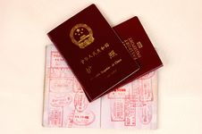 Free Three Passports Royalty Free Stock Photography - 5766697