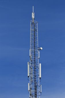Free Telecommunication Antenna Stock Image - 5767341