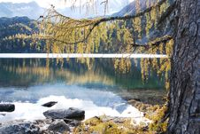 Free Lake On The Mountain Royalty Free Stock Photos - 5767438