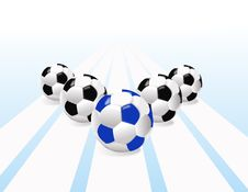 Free Balls For Football Stock Photography - 5767632