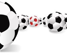 Free Balls For Football Royalty Free Stock Image - 5767646